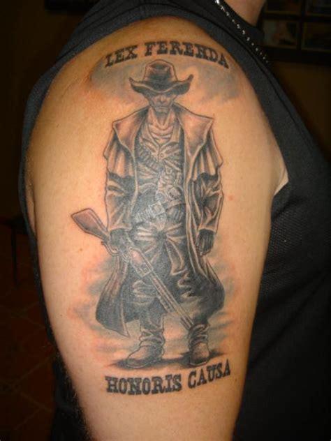 lex ferenda wild west tattoo