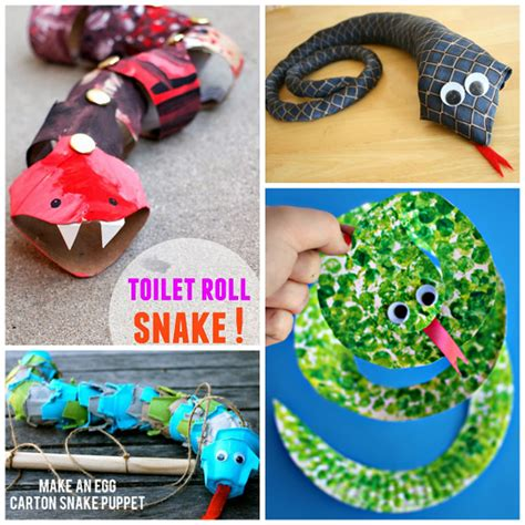 how to make craft the coolest snake crafts for to create crafty morning