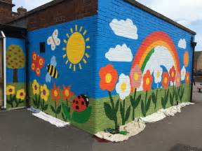 wall murals for schools new whittington primary school mural junction arts