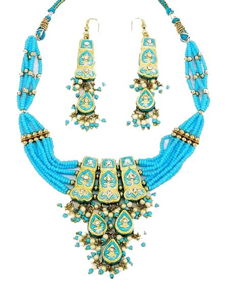 Indian Lac Costume Jewellery Mixed Necklaces Pictures 3