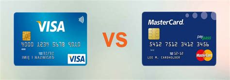 credit card visa vs mastercard what s the difference canstar