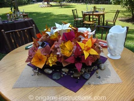 origami wedding centerpieces origami wedding origami for your special day