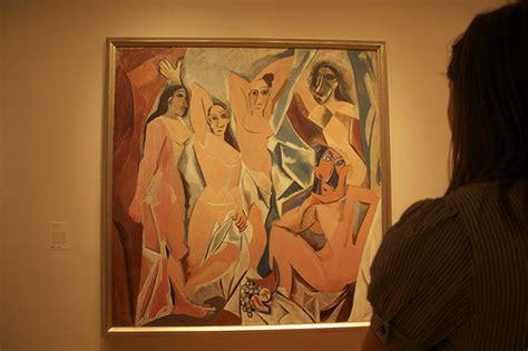 picasso paintings les demoiselles les demoiselles d avignon flickr photo