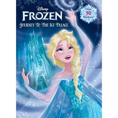 frozen picture book journey to the palace walmart