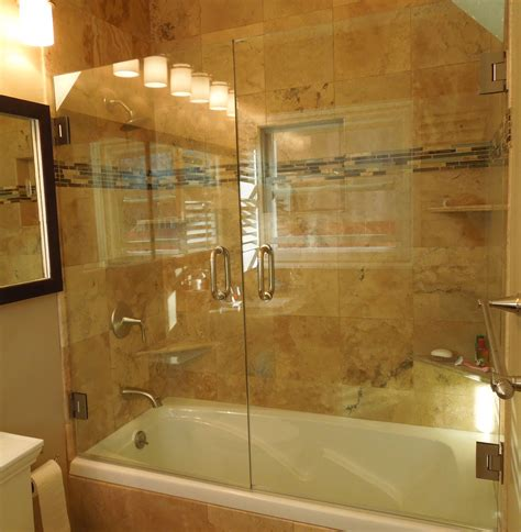 install shower doors on tub shower bathtub doors 140 bathroom style on tub shower