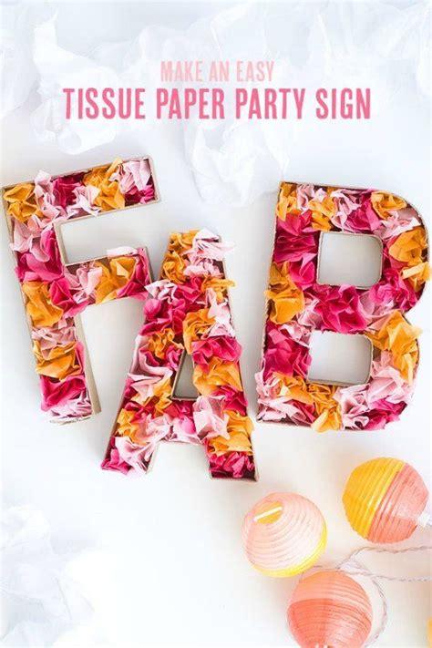 letras de carton decoradas letras de cart 243 n decoradas con papel de seda decoraci 211 n