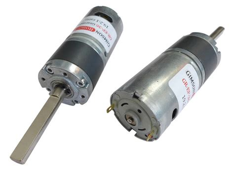 Compact Electric Motor by Compact 36mm Planetary Gearmotor 19 2 1 Ratio Gimson