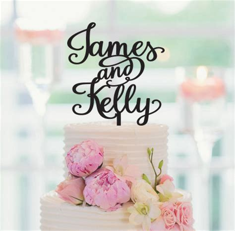 decorations personalized personalized wedding decorations personalized cake topper