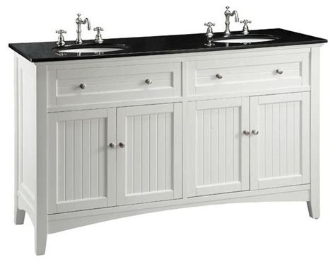 Shaker Dining Room Chairs 60 quot cottage style thomasville bathroom sink vanity