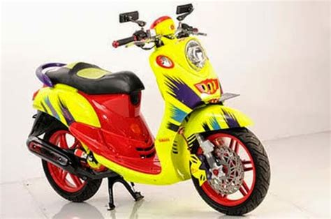 Modification Scoopy Fi by 15 Modifications Honda Scoopy The Motorcycle