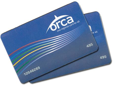 a card orca cards fares orca passes metro transit king county