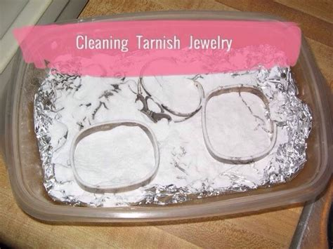 how to make jewelry cleaner for silver cleaning tarnish jewelry trusper