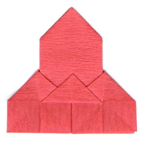 religious origami how to make a traditional origami church page 7