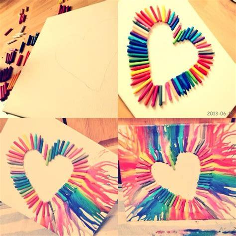 arts and crafts diy projects diy crayon craft ideas diy