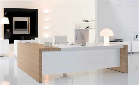 modern desk design ideas stylish modern office furniture ideas minimalist desk