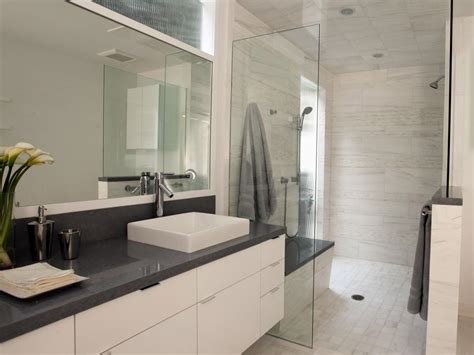 white modern bathroom photo page hgtv