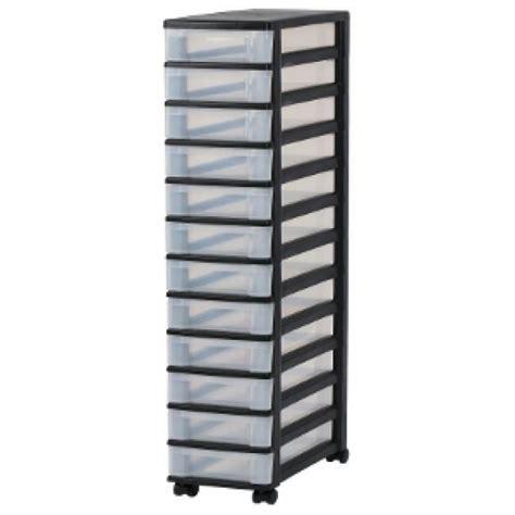 tours de rangement douze tiroirs tour de rangement noir colonne de rangement 12 tiroirs