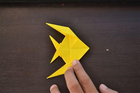 origami fish how to make an origami fish with pictures wikihow