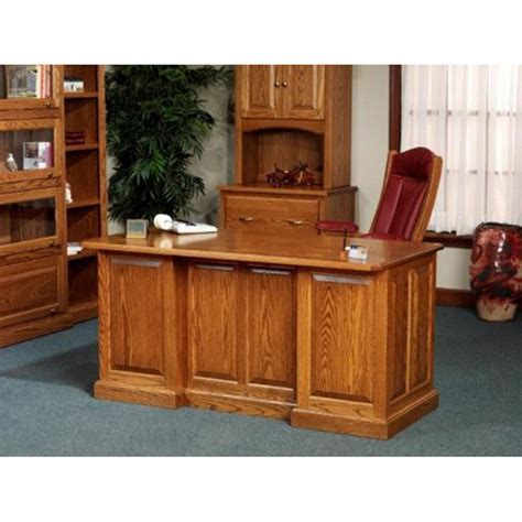 oak office furniture for the home 860 executive desk 54 860 amish oak office furniture made