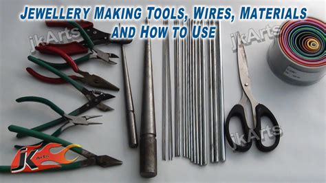 tools needed to make jewelry jewellery tools wires materials and how to use