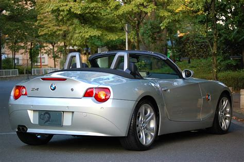 Bmw Z4 3 0i by 03y Bmw Z4 3 0i Z4 Smg チタンシルバー ベンツ 中古車 パーツ 買取ならカーエージェント