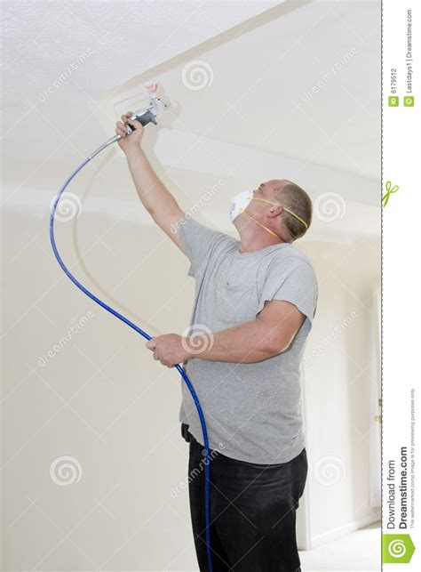 spray painter contract painter spray painting stock photography image 6179512