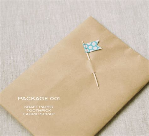 craft paper wrapping brown paper packages up with string makely