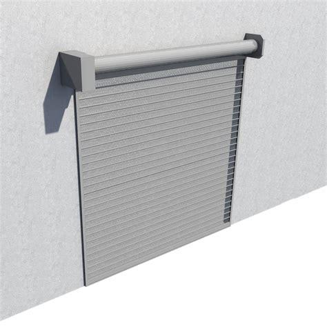objets bim et cao rideau metallique murax 110 microperfore galvanise la toulousaine