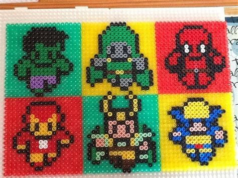 hama marvel 17 best images about perler ideas on perler