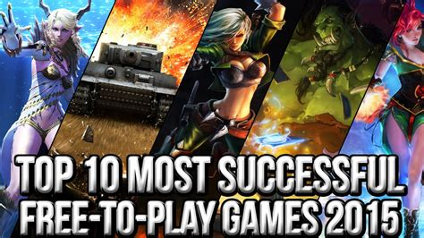 for free to play top 10 most successful free to play mmo 2015