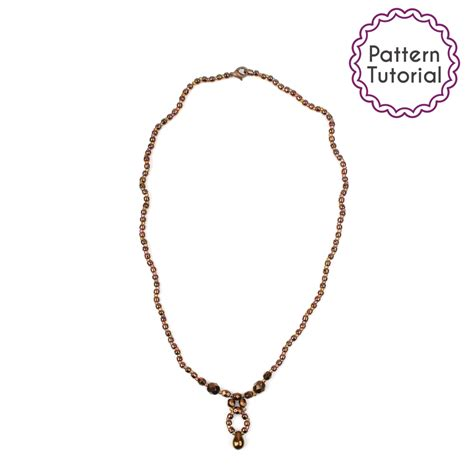 seed bead necklace patterns for beginners perth necklace pattern beading tutorial pdf seed