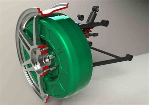 In Wheel Electric Motor by Protean In Wheel Electric Motor 171 Inhabitat Green Design