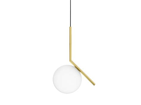 flos pendant lights brass pendant l ic lights s1 by flos design michael