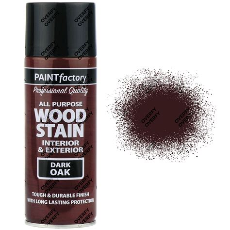 spray paint for wood x8 400ml all purpose oak satin spray paint brown