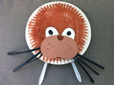walrus paper plate craft walrus paper plate project preschool 2
