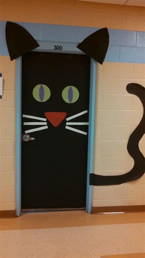 ideas black cat 6 class door ideas roommomspot