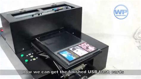 printers for card digital inkjet usb credit card flash drive flatbed printer