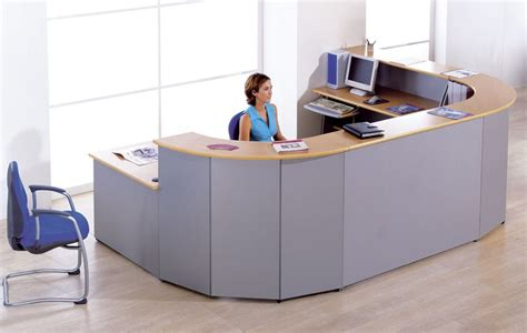 two person reception desk offimat two person reception desk reality
