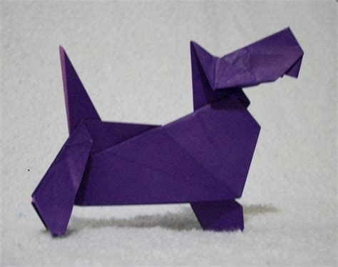 origami scottie 1000 images about origami animals on