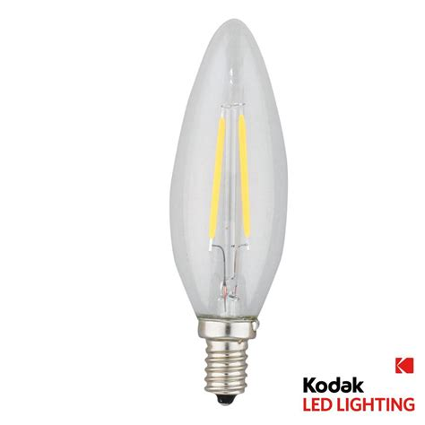 e12 light bulb led kodak 25w equivalent warm white e12 candle torpedo