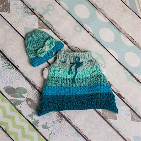 loom knit newborn hat loom knit poncho hat set pattern for newborn baby cape