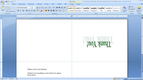 how to make place cards on microsoft word how to print your own tent cards in microsoft word
