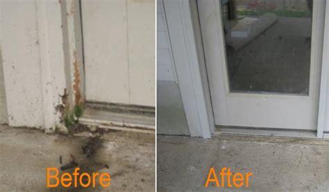 repairing exterior door frame cincinnati door repair promaster home repair handyman