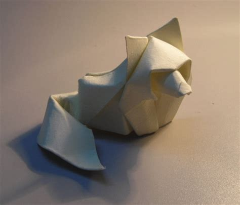 wolf origami origami works by hoand tien quyet