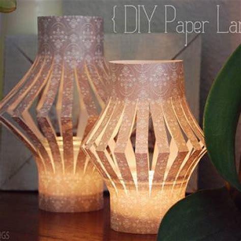 paper craft lantern diy paper lanterns simple paper craft tip junkie