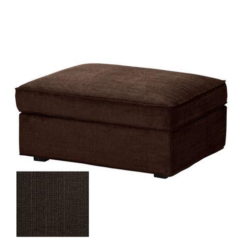 ikea kivik footstool slipcover ottoman cover tullinge