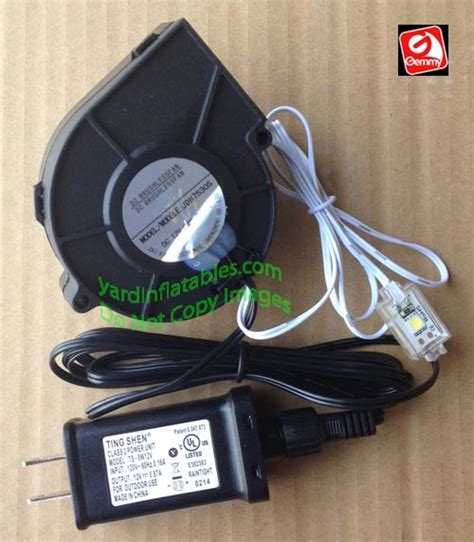 replacement motor for decorations gemmy replacement 5a fan with 12v 67a adapter