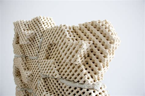 Smart Art 3d Printed Sculptures 3d pritned bricks can be used to cool desert homes psfk