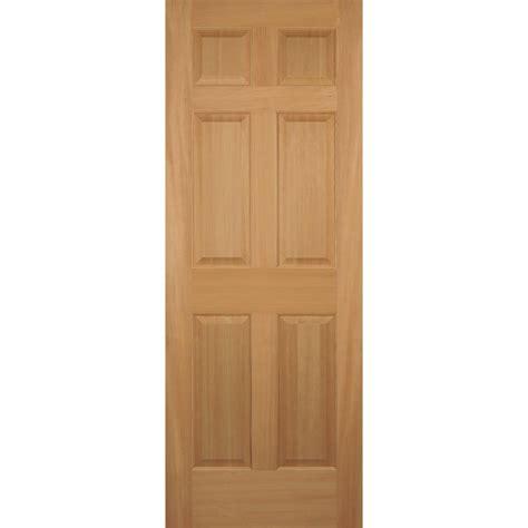 interior panel doors home depot builder s choice 32 in x 80 in hemlock 6 panel interior door slab hd66s28 the home depot