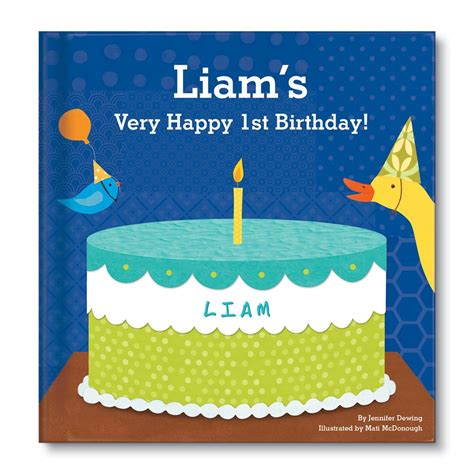 My Happy Birthday Book For Boys Personalized